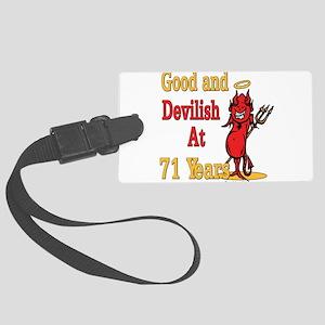 Devislish71 Large Luggage Tag