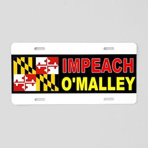 DUMB O'MALLEY Aluminum License Plate