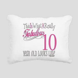 Fabulous 10yearold Rectangular Canvas Pillow