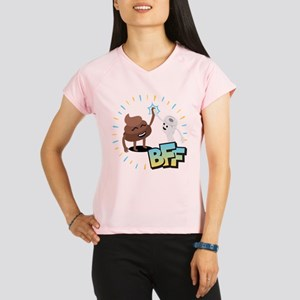 Emoji Poop Toilet Paper BF Performance Dry T-Shirt