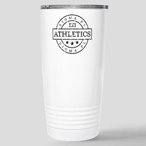 Sigma Pi Athletic 16 oz Stainless Steel Travel Mug