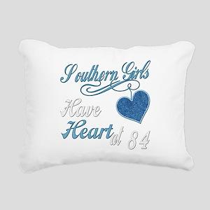 Southern Heart at 84 Rectangular Canvas Pillow