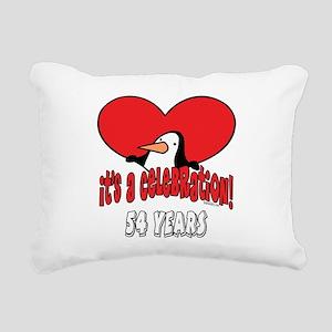 PenguinCel54 Rectangular Canvas Pillow