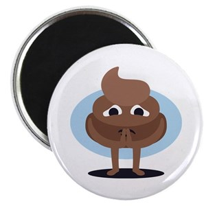 Emoji Poop Magnets Cafepress