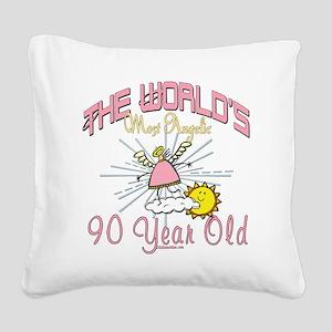 AngelicAt90 Square Canvas Pillow