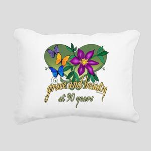GraceButterfly90 Rectangular Canvas Pillow