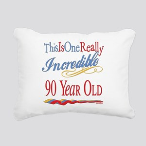 Incredibleat90 Rectangular Canvas Pillow
