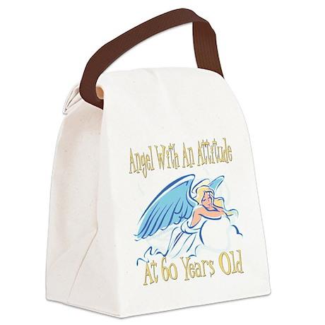 AngelAttitude60 Canvas Lunch Bag