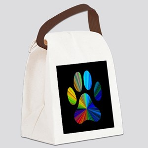 PAW PRINT Canvas Lunch Bag