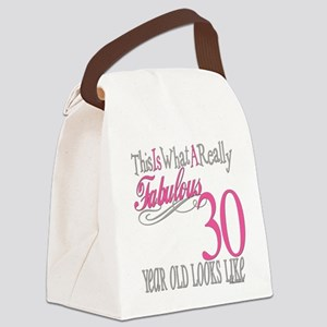 Fabulous 30yearold Canvas Lunch Bag