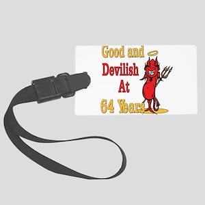 Devislish64 Large Luggage Tag