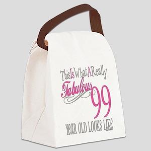 Fabulous 99yearold Canvas Lunch Bag