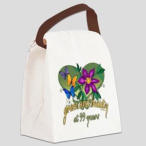GraceButterfly99 Canvas Lunch Bag
