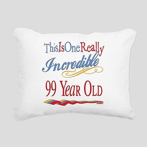 Incredibleat99 Rectangular Canvas Pillow