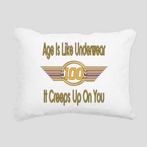 BirthdayUnderwear100 copy Rectangular Canvas P