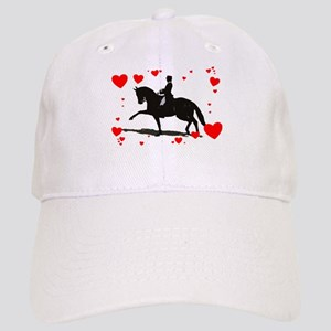 Dressage and Hearts Cap