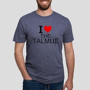 I Love The Talmud Mens Tri-blend T-Shirt