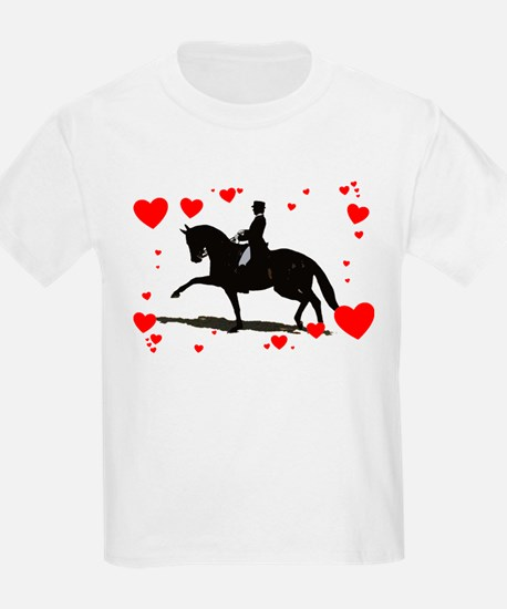 Dressage and Hearts T-Shirt