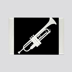 Trumpet Rectangle Magnet