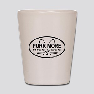 Purr More Shot Glass