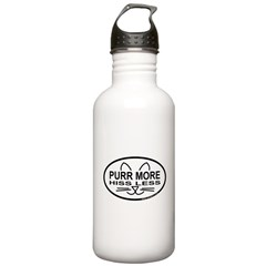 Purr More Stainless Water Bottle 1.0L