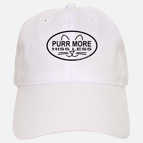 Purr More Baseball Baseball Cap