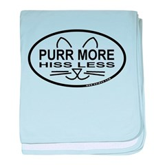 Purr More baby blanket
