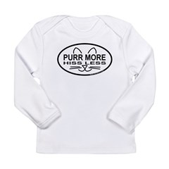 Purr More Long Sleeve Infant T-Shirt