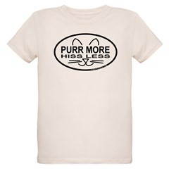 Purr More Organic Kids T-Shirt