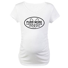Purr More Maternity T-Shirt
