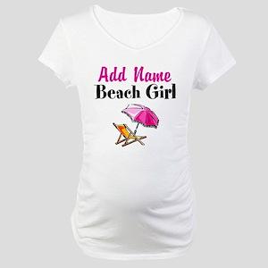 BEACH GIRL Maternity T-Shirt