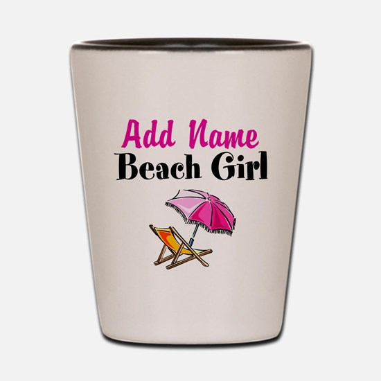 BEACH GIRL Shot Glass
