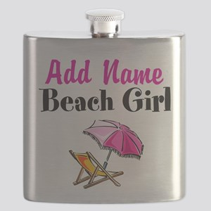 BEACH GIRL Flask