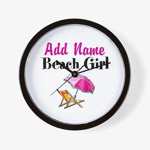 BEACH GIRL Wall Clock
