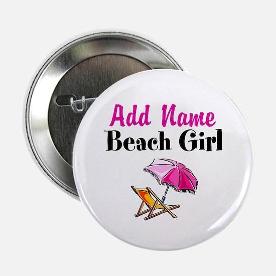 """BEACH GIRL 2.25"""" Button"""