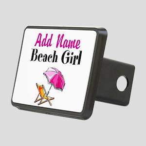 BEACH GIRL Rectangular Hitch Cover