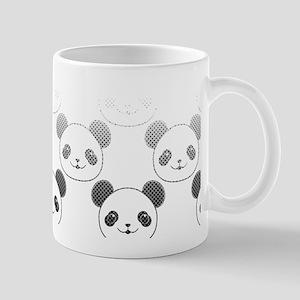 Gradient Panda Bear Pattern Mugs
