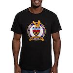 USS HAWKINS Men's Fitted T-Shirt (dark)