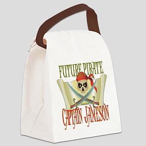 PirateJameson Canvas Lunch Bag