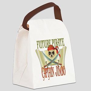 PirateJIMBO Canvas Lunch Bag