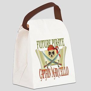 PirateMarcello Canvas Lunch Bag