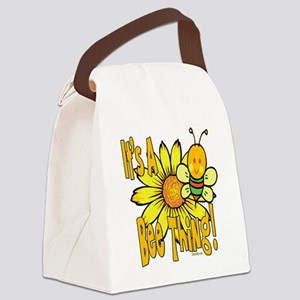 BumbleBeeItsABeeThing2 Canvas Lunch Bag