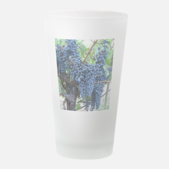 Calistoga Bloom by Jean Mac Frosted Drinking Glass