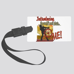 LTIntroducingPiratever4 copy Large Luggage Tag