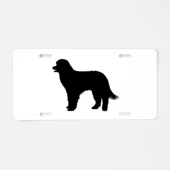 Pyrenean Shepherd Aluminum License Plate