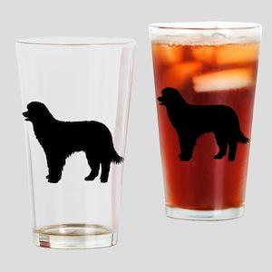 Pyrenean Shepherd Drinking Glass