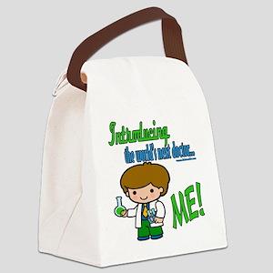 LTIntroducingDoctorbrown copy Canvas Lunch Bag