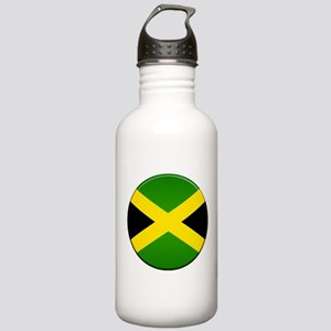 Jamaican Button Stainless Water Bottle 1.0L