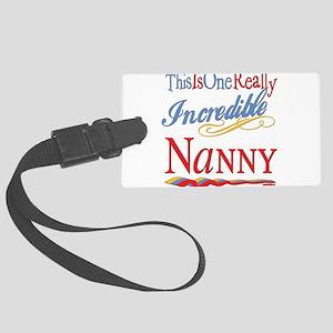Incredible NANNY Large Luggage Tag
