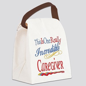 Incredible CAREGIVER Canvas Lunch Bag